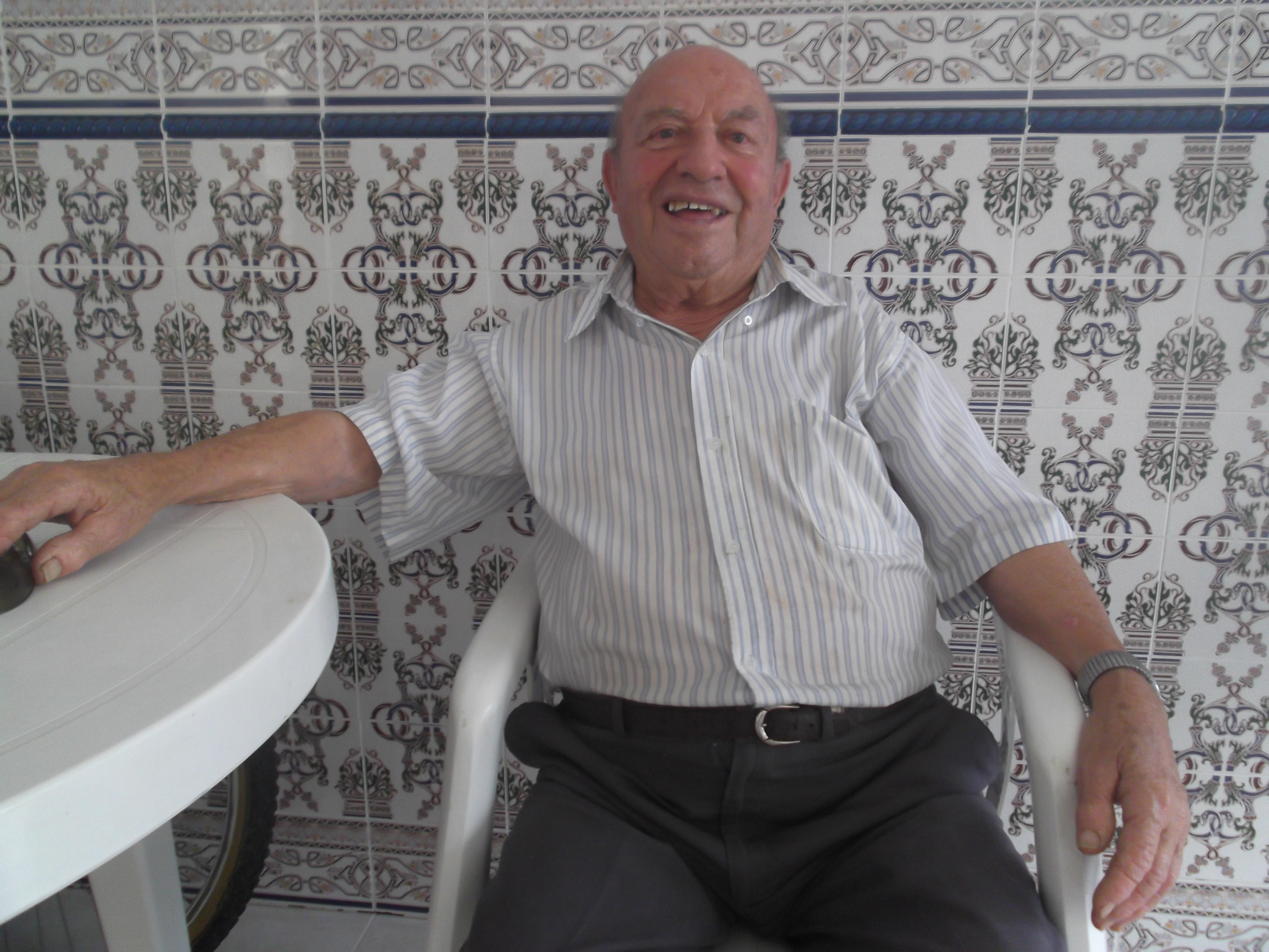 Pedro Palacios Granado, el más mayor de los mayores